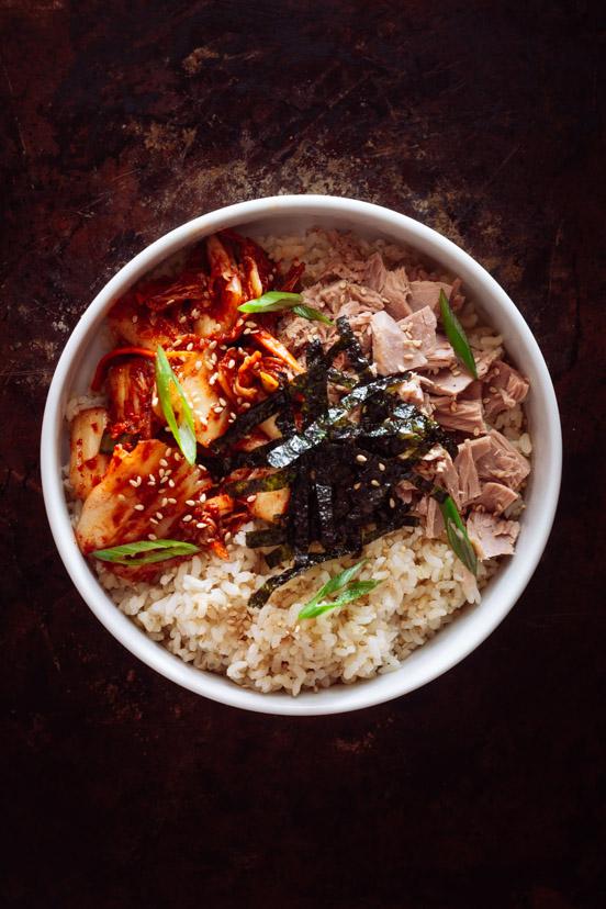 Kimchi Tuna Rice