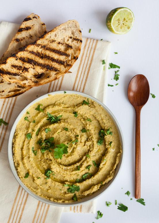 Smoky Corn & Jalapenos Hummus