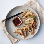 Kale and Corn Pot Stickers