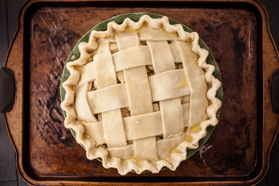 Pie lattice top
