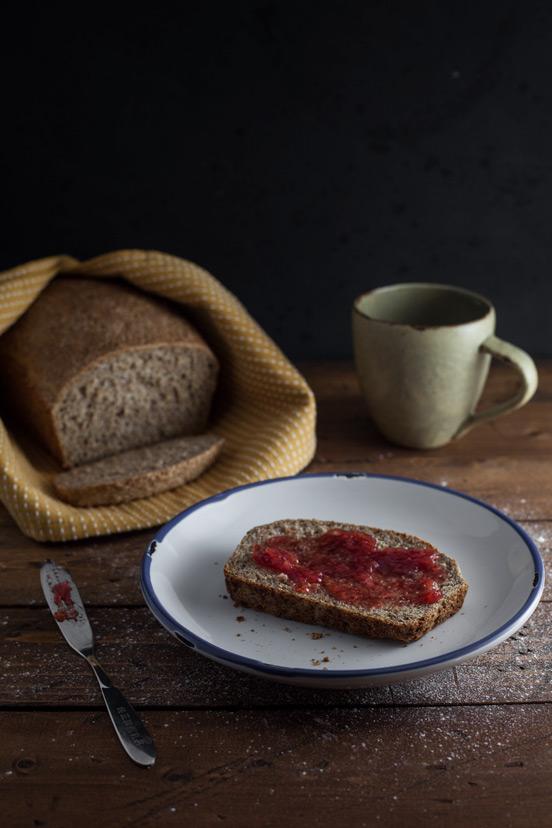 Five Minute Whole Grain Loaf