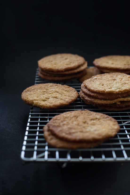 Thin Crispy Coconut Cookies